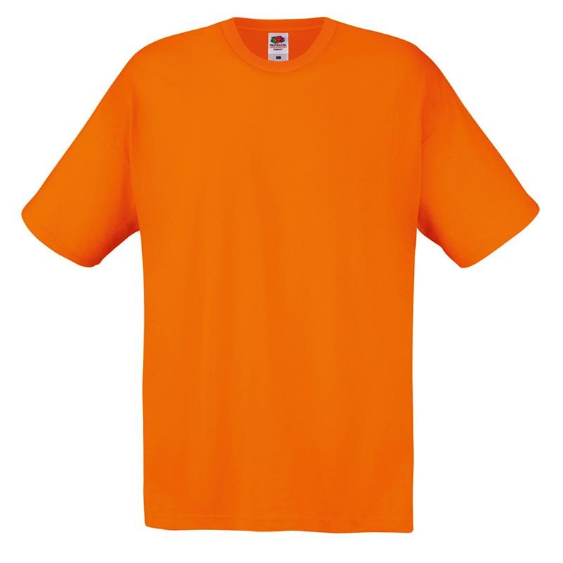 145gsm 100% Cotton Full Cut Original T Shirt Short Sleeve - STFA-orange