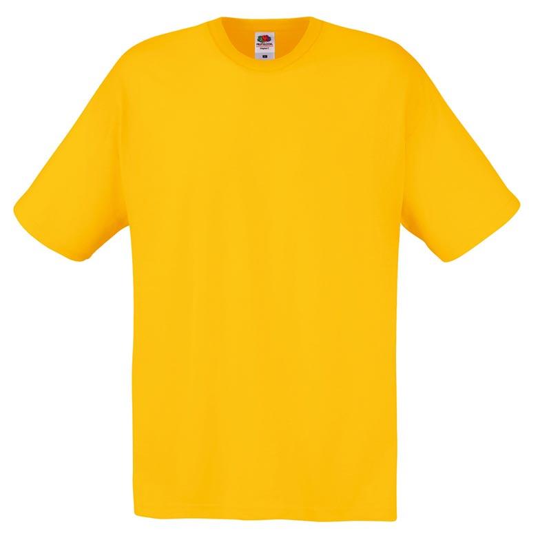 145gsm 100% Cotton Full Cut Original T Shirt Short Sleeve - STFA-sunflower