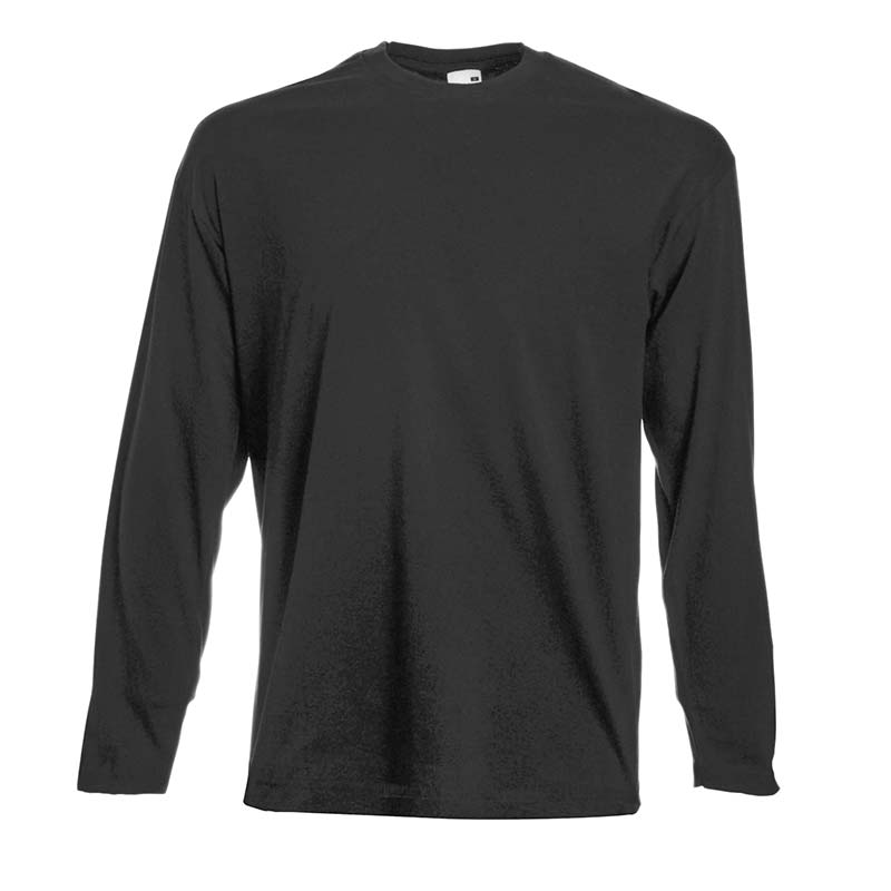 165gsm 100% Cotton, Belcoro® Yarn Valueweight Long Sleeve T - STLA-light-graphit