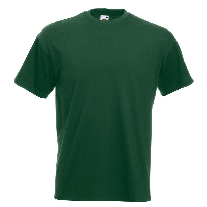 205gsm 100% Cotton, Belcoro® yarn Super Premium T Short Sleeve - STPA-bottle-green
