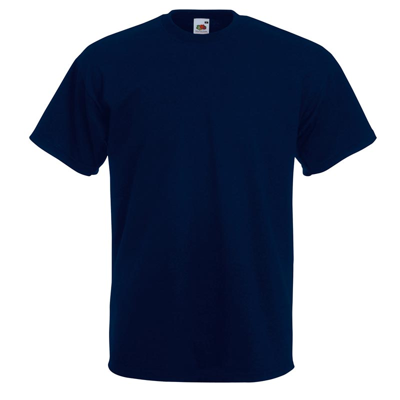 205gsm 100% Cotton, Belcoro® yarn Super Premium T Short Sleeve - STPA-deep-navy