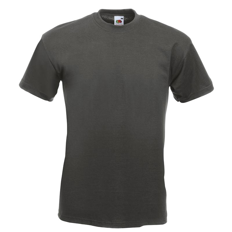 205gsm 100% Cotton, Belcoro® yarn Super Premium T Short Sleeve - STPA-light-graphite