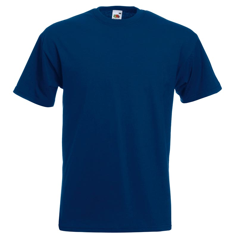 205gsm 100% Cotton, Belcoro® yarn Super Premium T Short Sleeve - STPA-navy