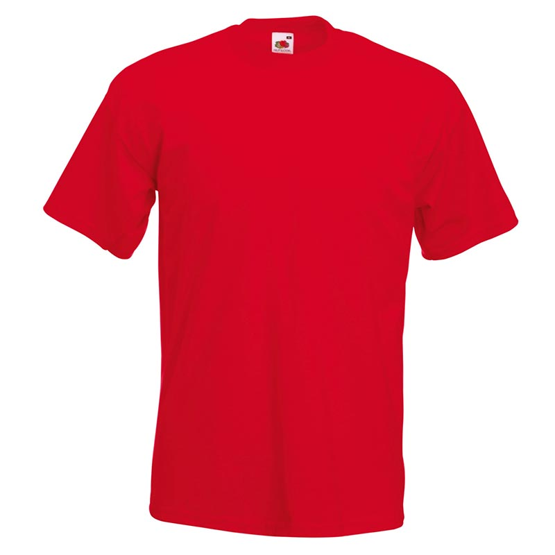 205gsm 100% Cotton, Belcoro® yarn Super Premium T Short Sleeve - STPA-red