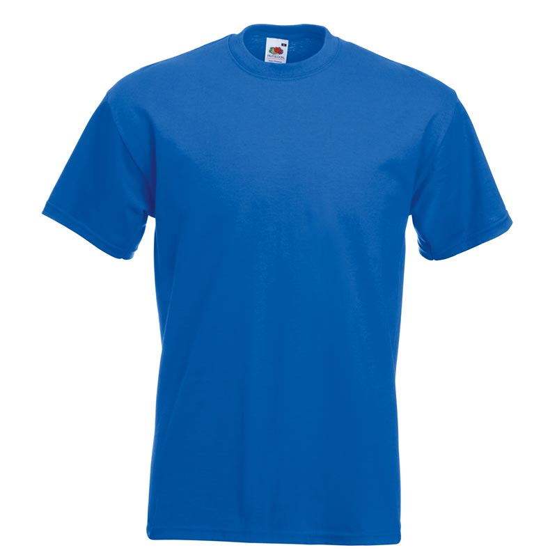 205gsm 100% Cotton, Belcoro® yarn Super Premium T Short Sleeve - STPA-royal-blue