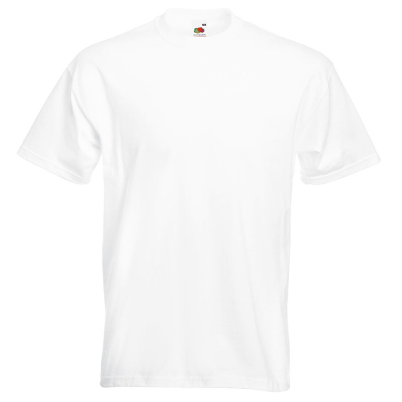 205gsm 100% Cotton, Belcoro® yarn Super Premium T Short Sleeve - STPA-white