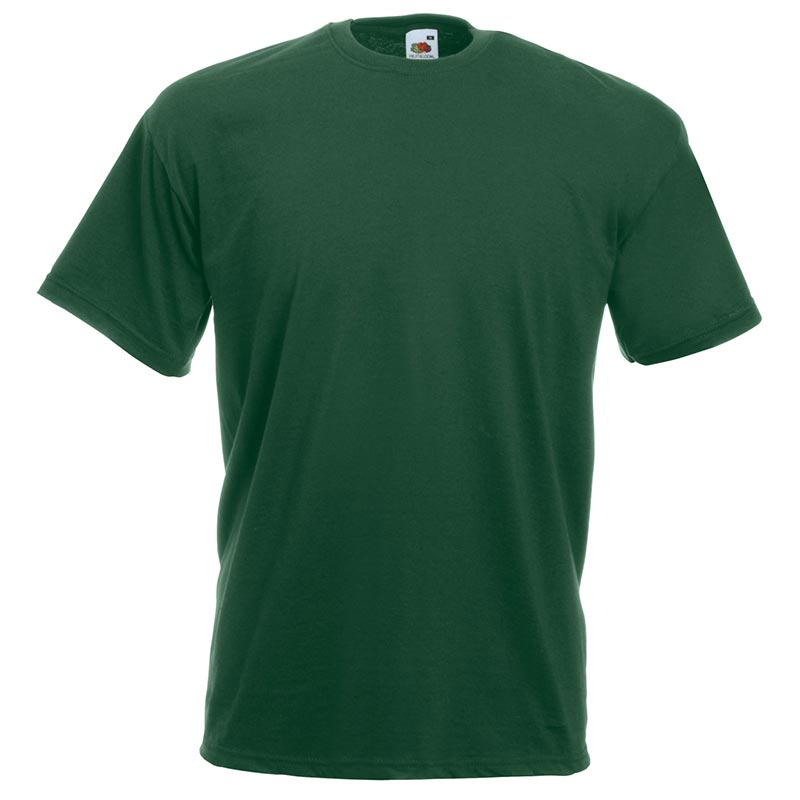 165gsm 100% Cotton, Belcoro® Yarn Valueweight T Short Sleeve - STVA-bottle-green