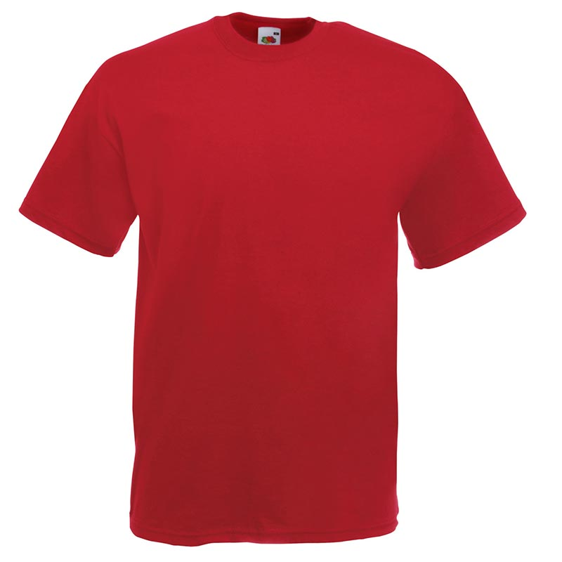 165gsm 100% Cotton, Belcoro® Yarn Valueweight T Short Sleeve - STVA-brick-red