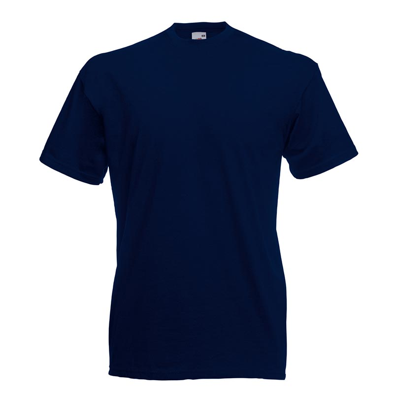 165gsm 100% Cotton, Belcoro® Yarn Valueweight T Short Sleeve - STVA-deep-navy