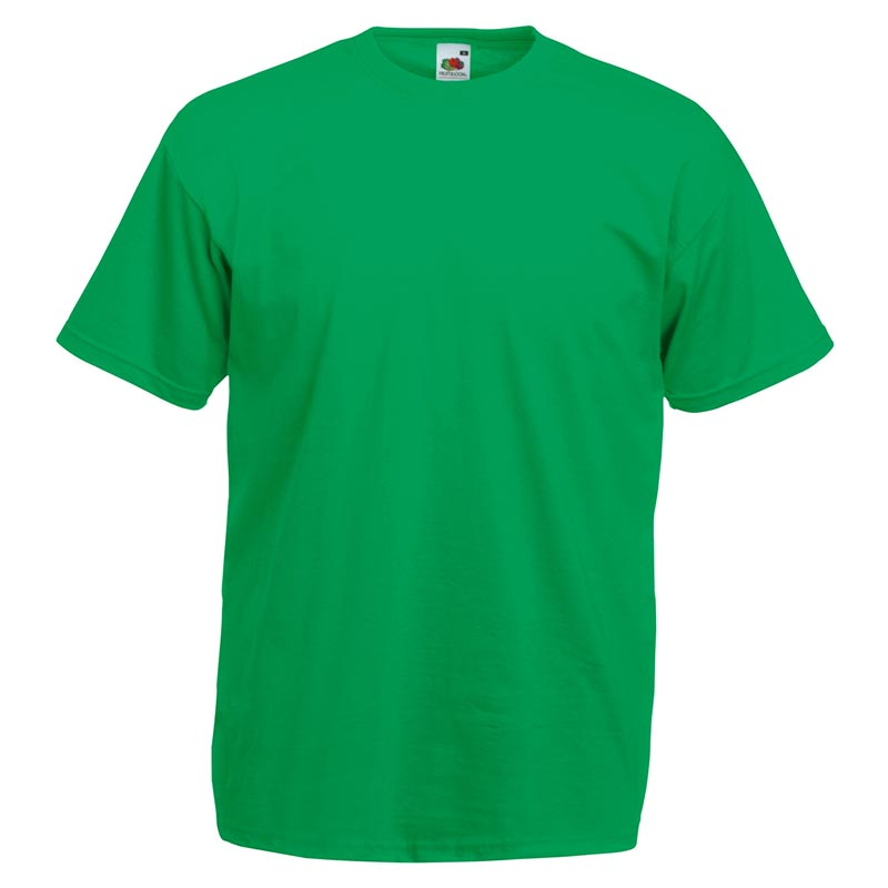 165gsm 100% Cotton, Belcoro® Yarn Valueweight T Short Sleeve - STVA-kelly-green