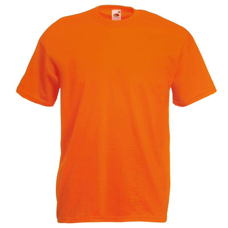 165gsm 100% Cotton, Belcoro® Yarn Valueweight T Short Sleeve - STVA-orange