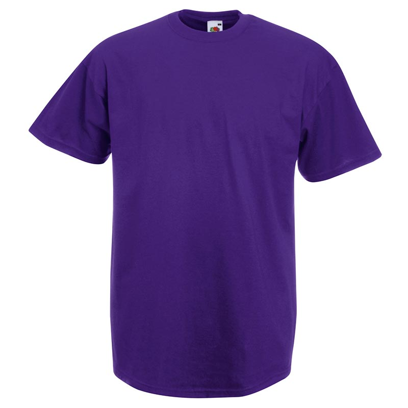 165gsm 100% Cotton, Belcoro® Yarn Valueweight T Short Sleeve - STVA-purple
