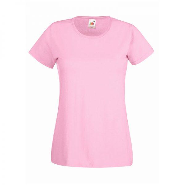 165gsm 100% Cotton, Belcoro® Yarn Lady-Fit Valueweight Crew Neck T Short Sleeve -STVL-light-pink