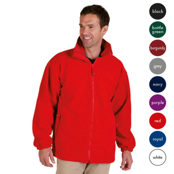 Gold Label Premium Polar Fleece - TFA01-red