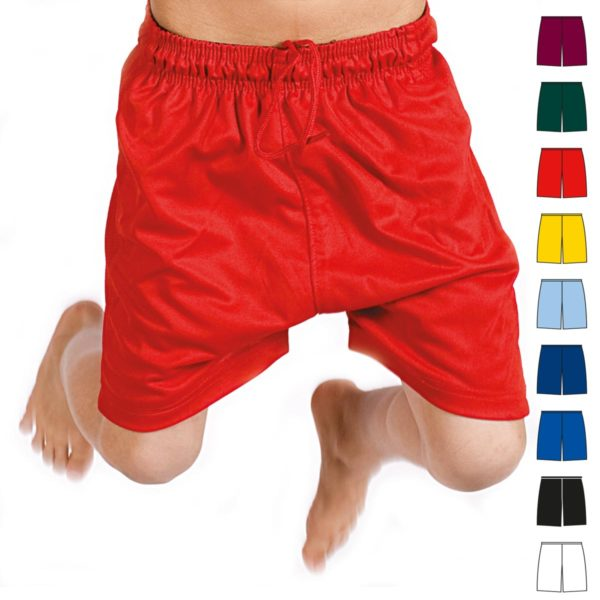 Kids Micromesh Football Shorts TFSK02