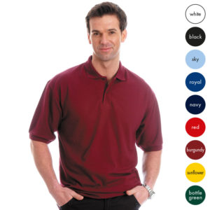 Mid-Weight Poly-Cotton Pique Polo TPA02