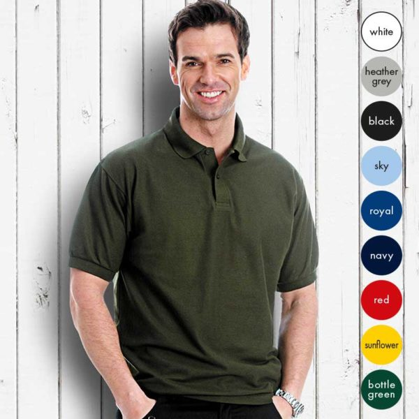 TPA03-190g 65/35PC Extra Value Pique Polo