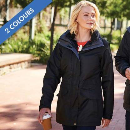 Ladies Benson III Breathable 3-in-1 Jacket - TRA148