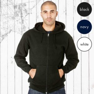 Hooded Full-Zip Set-In Sweats TSA05-main