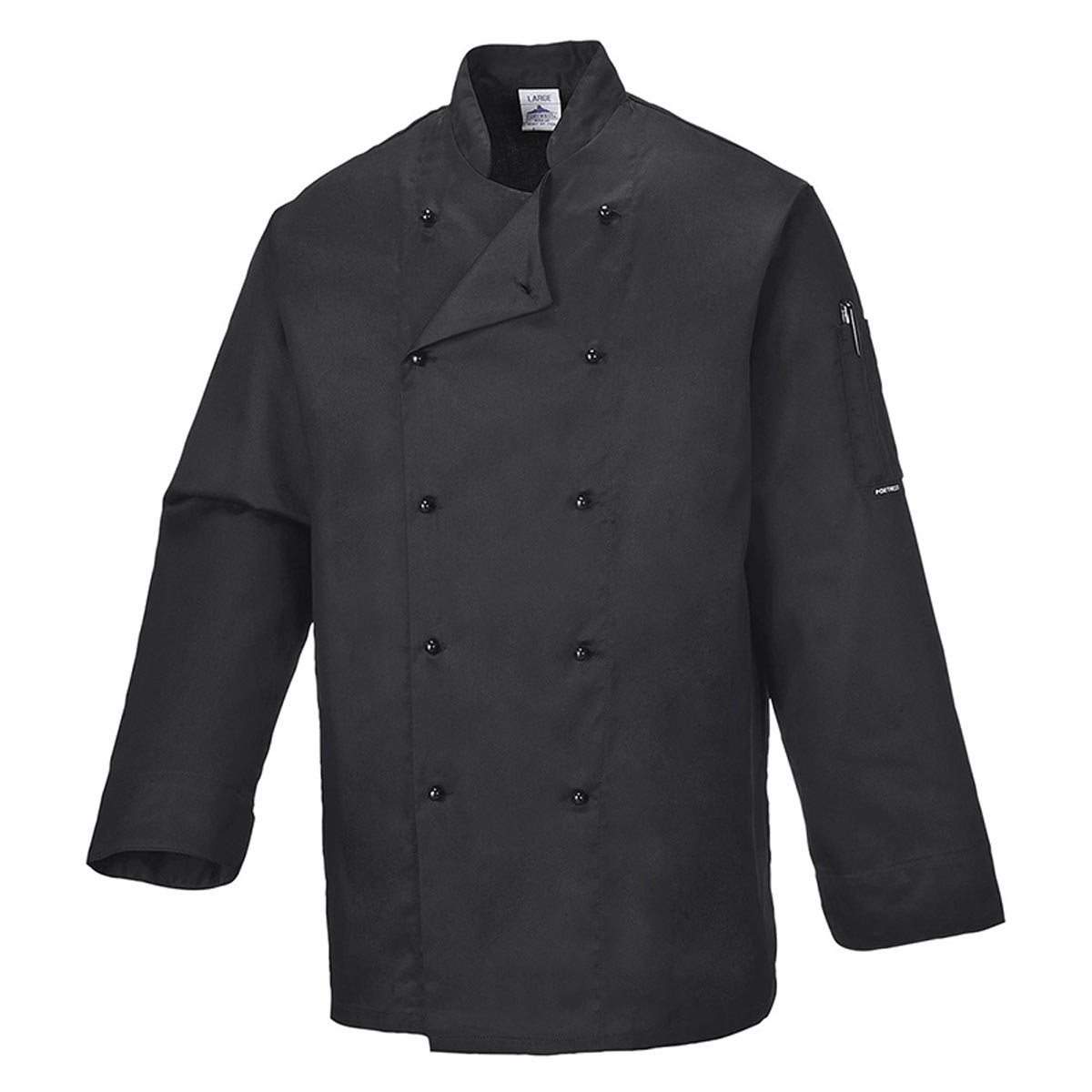 190g Somerset Chefs Jacket - WCJA834-black