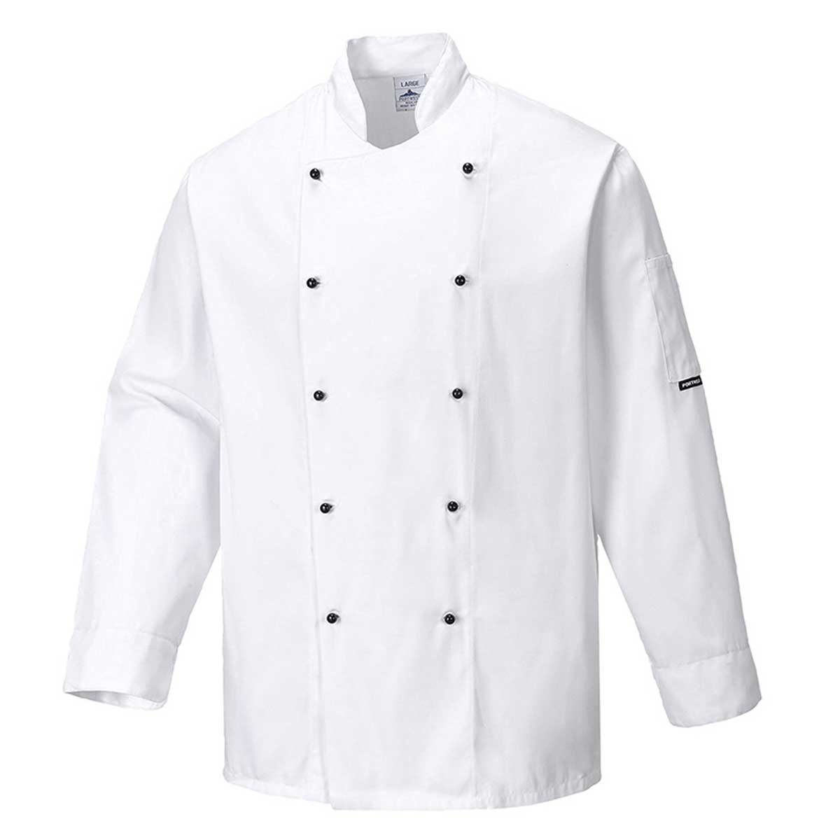 190g Somerset Chefs Jacket - WCJA834-white
