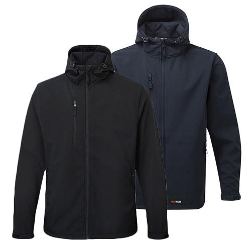 'HOLKHAM' Hooded Softshell Jacket - WJAA234