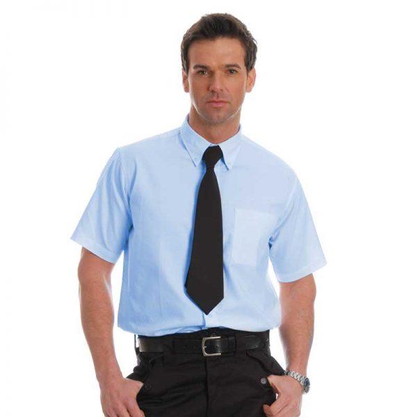 135gsm Oxford Shirt Short Sleeve - WSHA06-sky