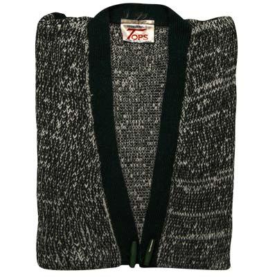 100% Acrylic Marl Waist Coat 2 Toggle Sleeveless - VCAA80-bottle