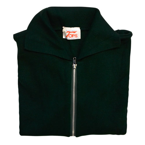 Jumper with Front Zip and Collar VJUA16-bottle