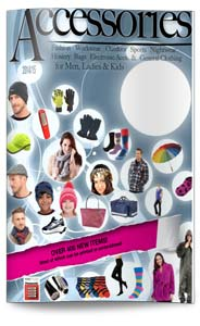 Enjoy browsing through our 100 page Accessories catalogue, includes winter accessories – eg. hats, gloves, scarves, socks & umbrellas, as well as many general accessories. Many items can be branded with your logo.