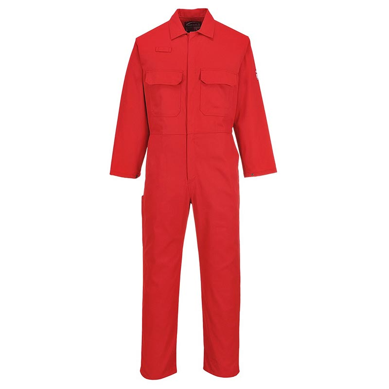 Bizweld™ Flame Retardant Coverall - WBSAB1-red