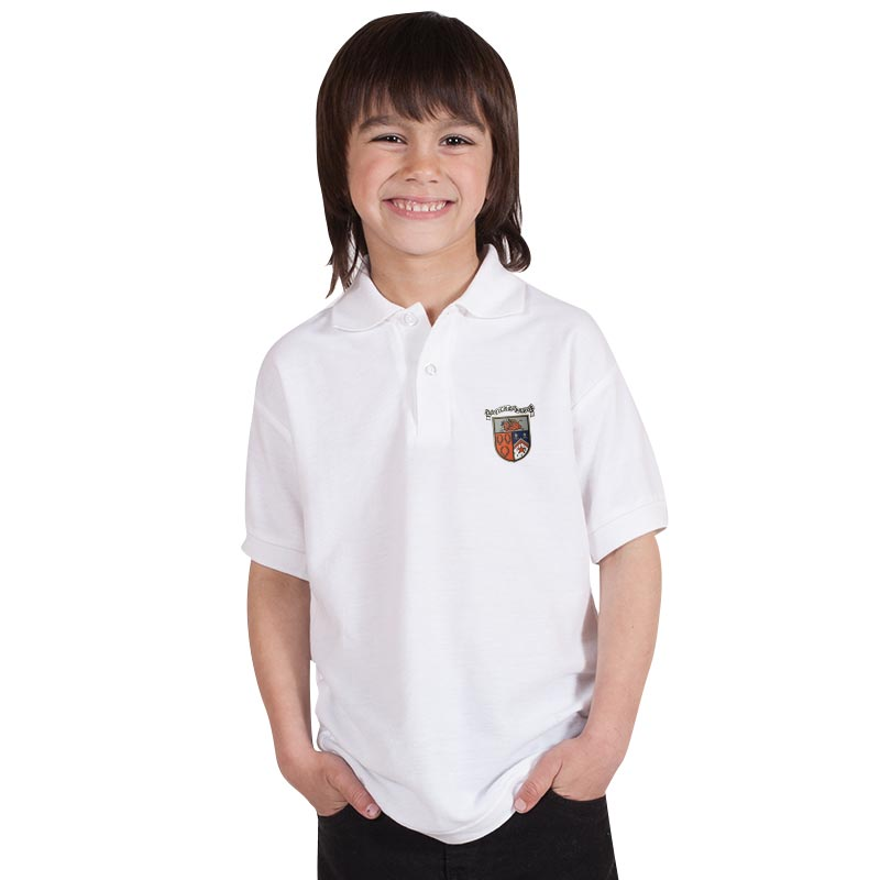 210g 50/50 PC 'BELL BAXTER' Hi Spec Kids Premium Polo