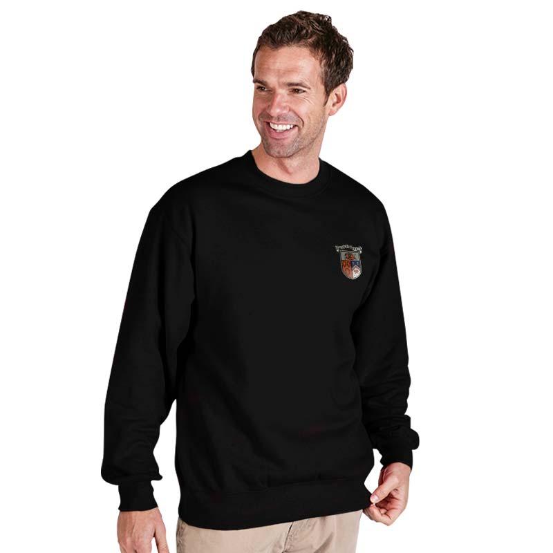 300g 70/30 CP Premium Hi-Spec Set-In Bell Baxter Crew SweatshirtTSA01-sweat-black
