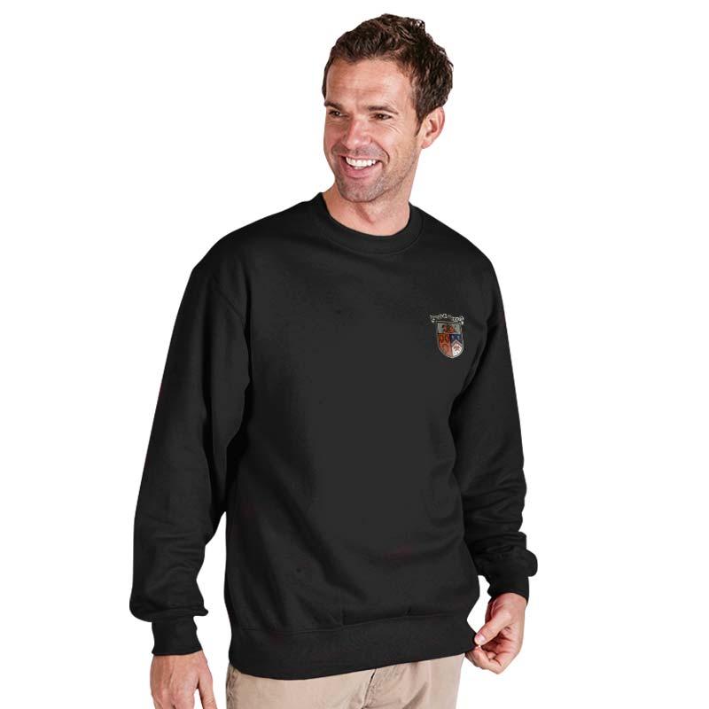 300g 70/30 CP Premium Hi-Spec Set-In Bell Baxter Crew SweatshirtTSA01-sweat-charcoal