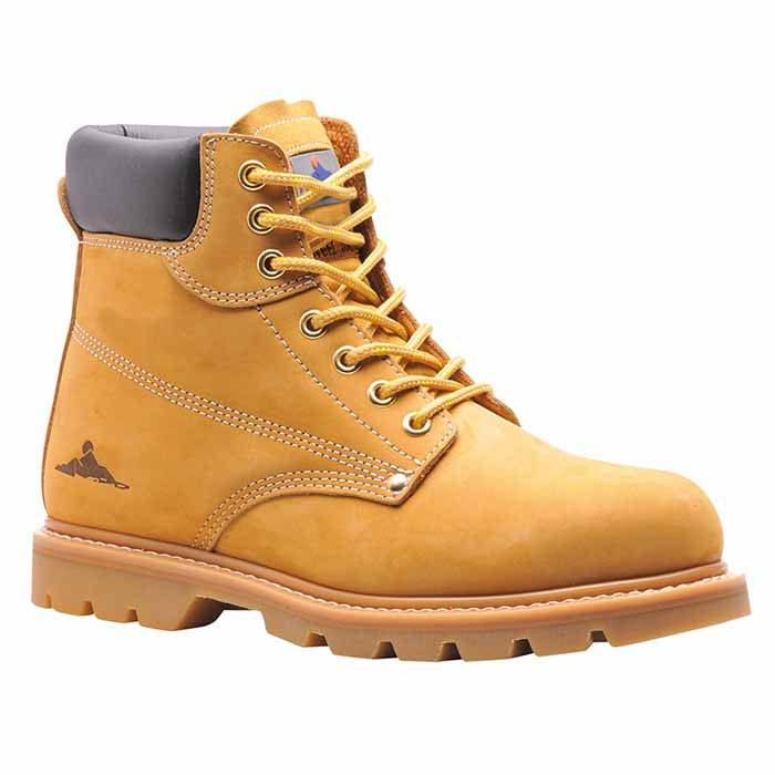 Steelite Welted Safety Boot SB -WSFA17-honey
