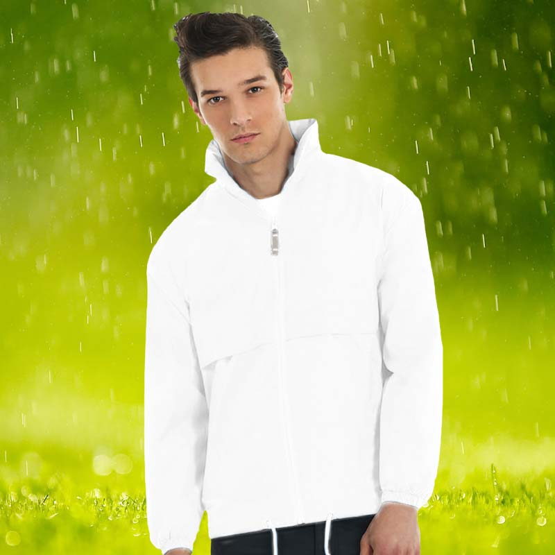 100% Nylon Air Windbreaker Bowling Jacket - BA605BOWLS