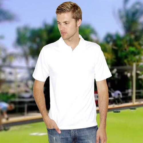 180gsm 100% Polyester Coolplus® Wicking Bowling Polo - HPA475BOWLS