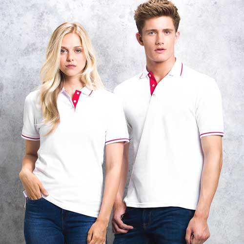 210gsm 100% Cotton Mens St Mellion Bowls Polo - KK606-KK706-18