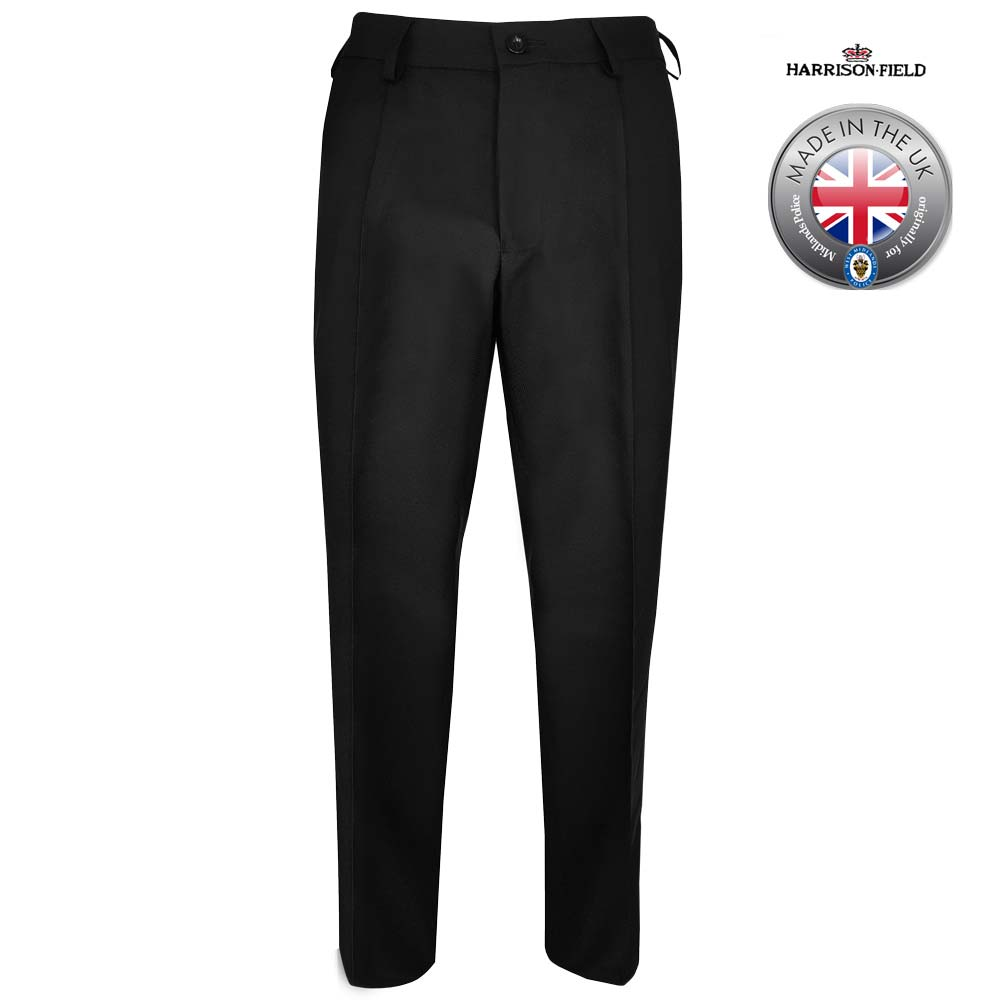 Mens Police Poly-Wool Trousers - WTRPA47
