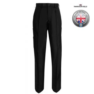 Mens Police Poly-Wool Trousers with thigh pockets - WTRPA48