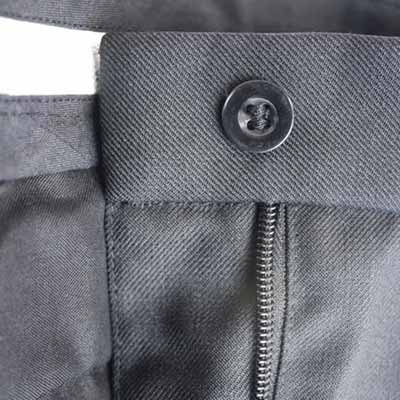 Mens Police Poly-Cotton Trousers Black - WTRPA49-details4