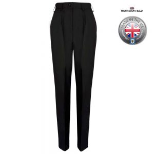 Ladies Police Poly-Wool Trousers Black - WTRPA51