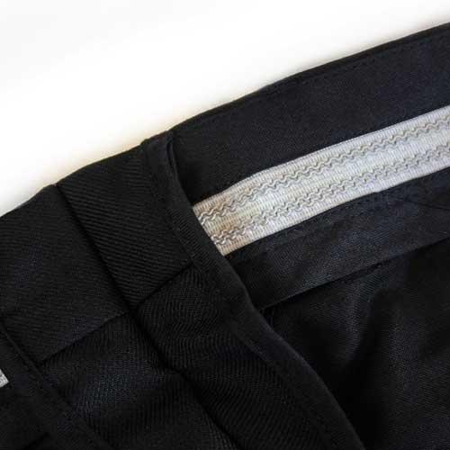 Ladies Police Poly-Wool Trousers Black - WTRPA52-Details2