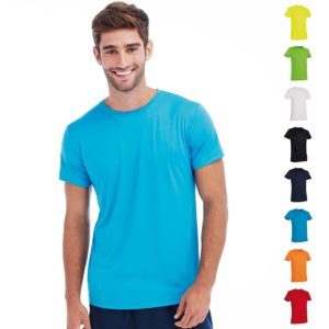 140gsm 100% ACTIVE-DRY Polyester ACTIVE Sports T (Smooth, Body-Fit) Short Sleeve - ST8000