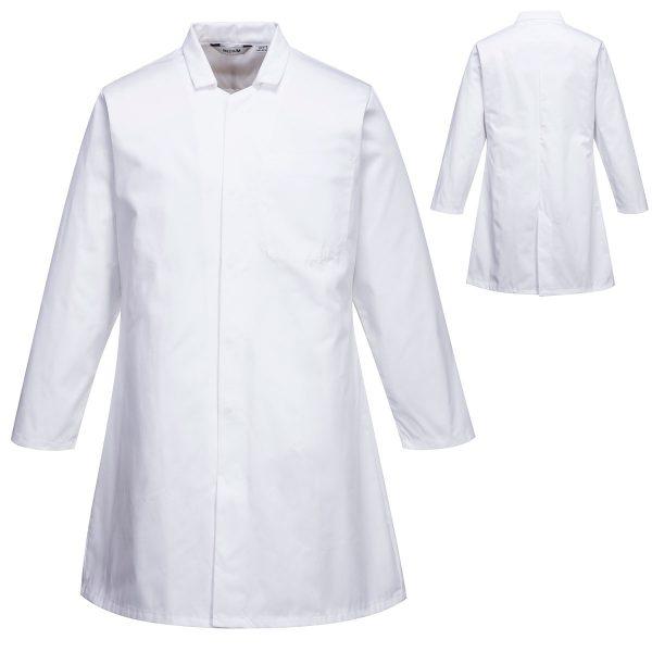 Mens Food Coat One Pocket - 2202WHR