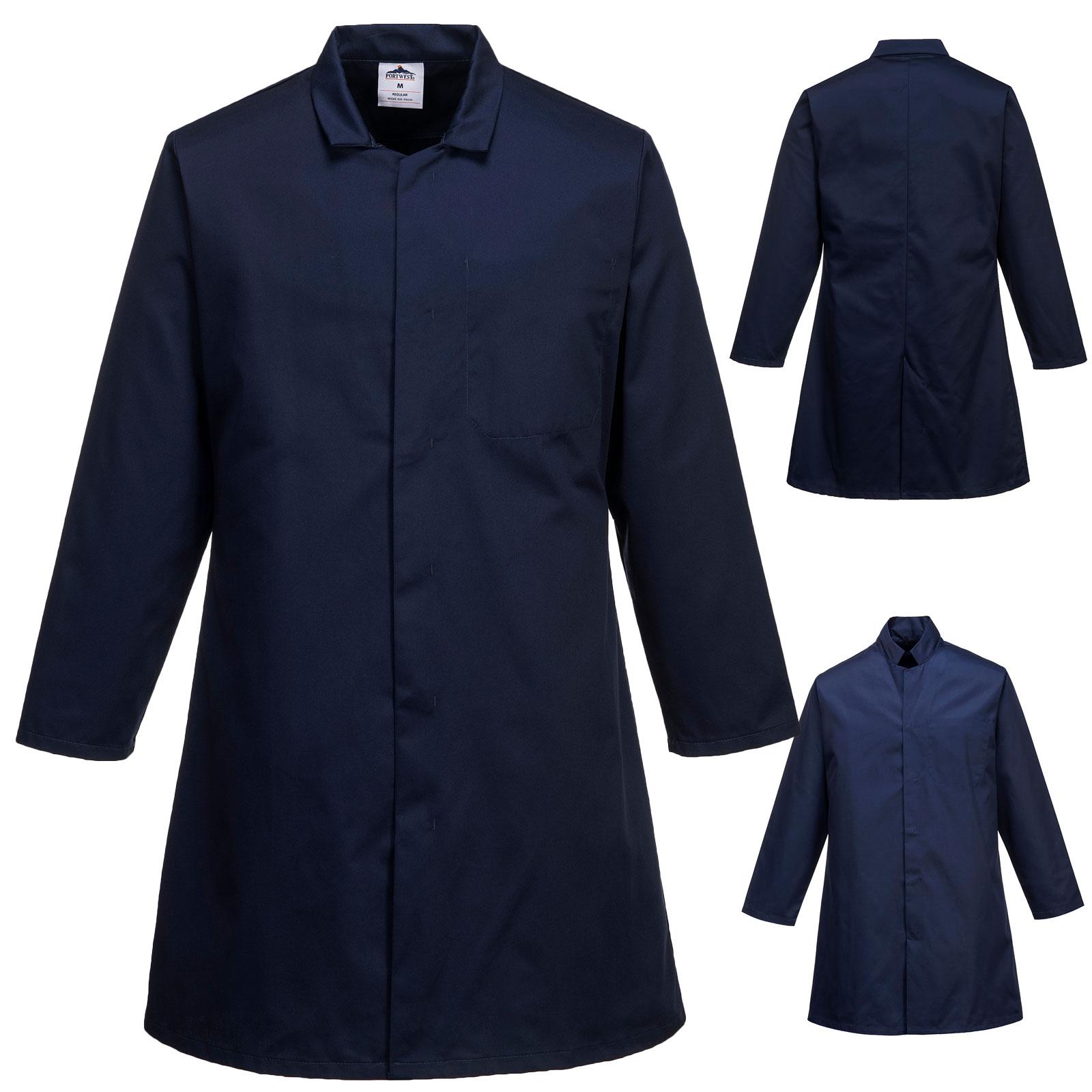 Mens Food Coat One Pocket - 2202_Navy