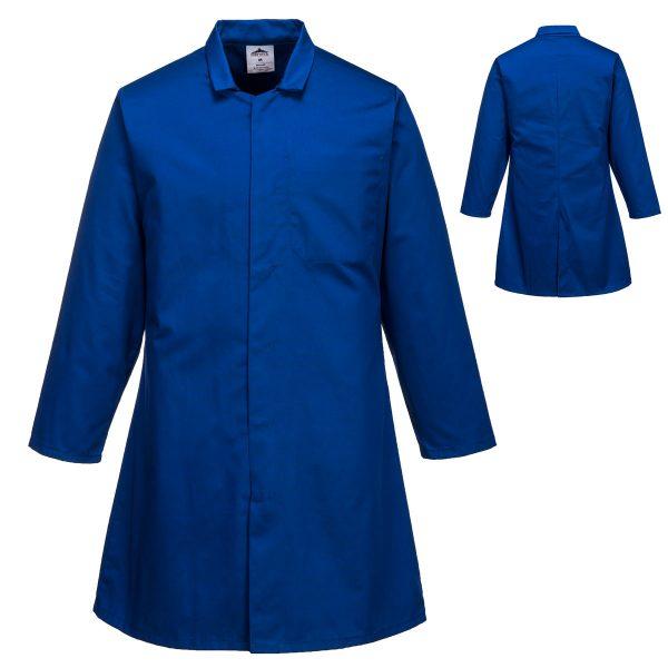 Mens Food Coat One Pocket - 2202_Royal_Blue