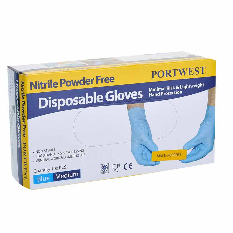 Powder Free Nitrile Disposable Glove - A925
