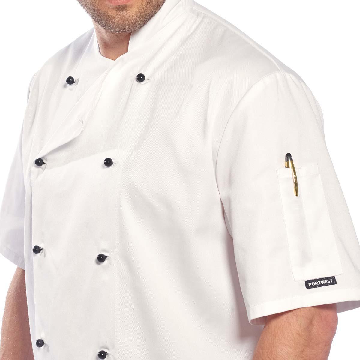 Kent Chefs Jacket - C734_det1