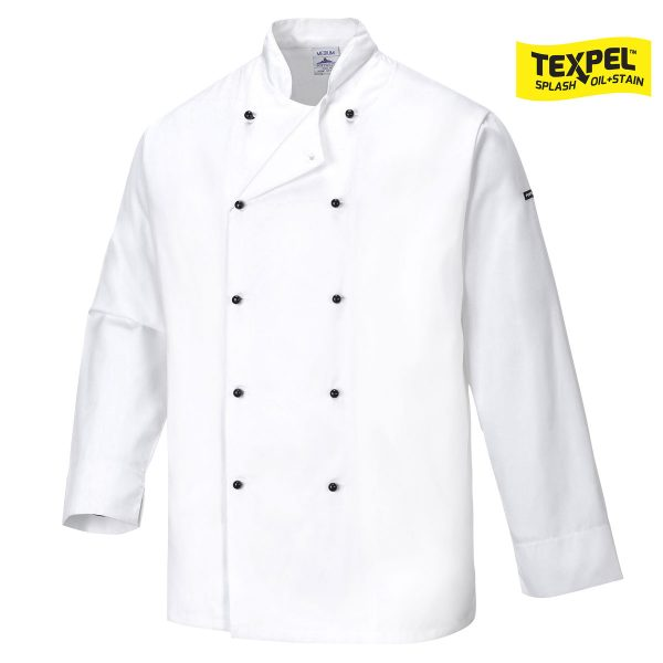 Cornwall Chefs Jacket - C831
